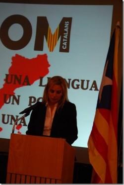 "L'appel d'Ester Gallego présidente de ""SOM Catalans"""