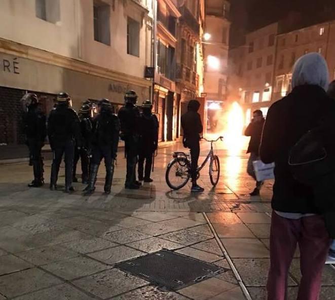 Saccage du centre-ville de Montpellier par l'extrême gauche, il est temps d'agir !