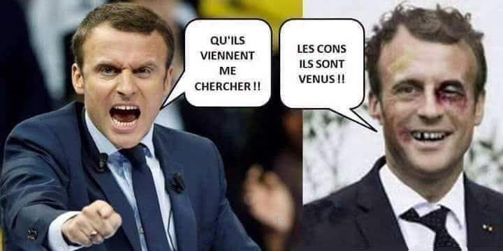 Macron t'es foutu, les gaulois sont dans la rue !