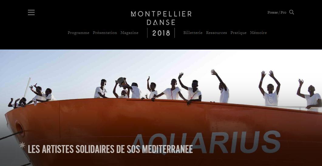 Quand la France est en feu, « Montpellier danse » !