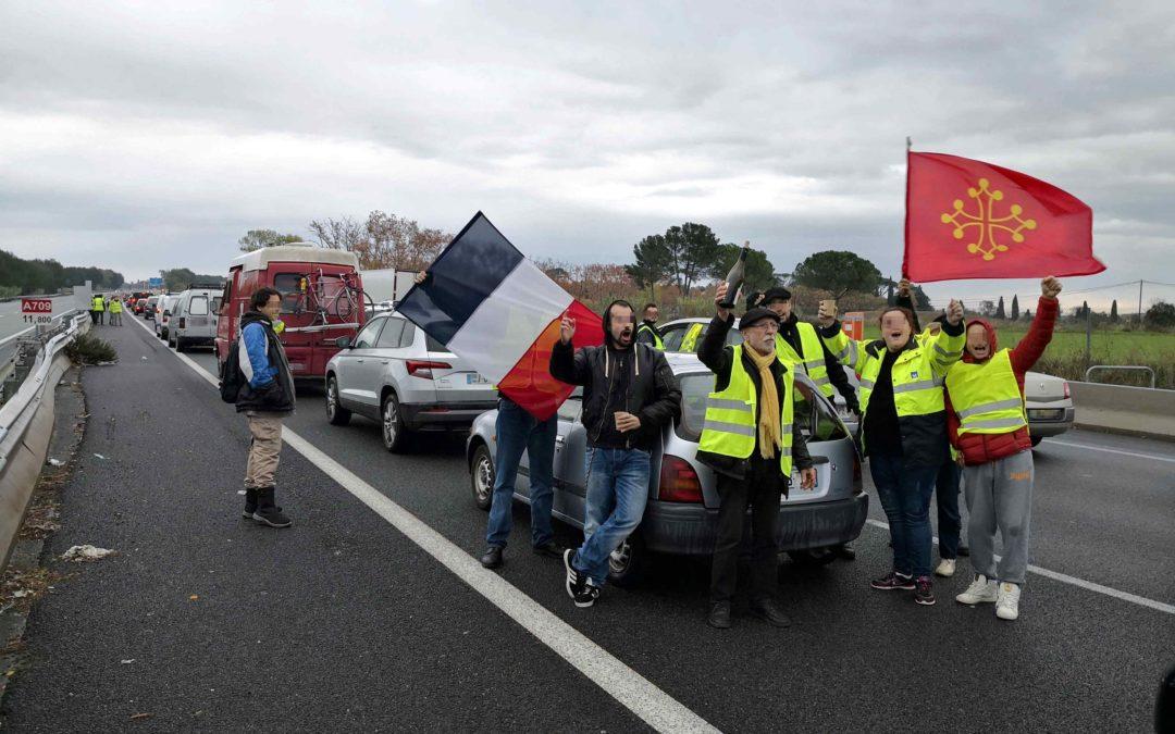 Gilets Jaunes : l'extrême gauche occitane prend Richard Roudier comme icone
