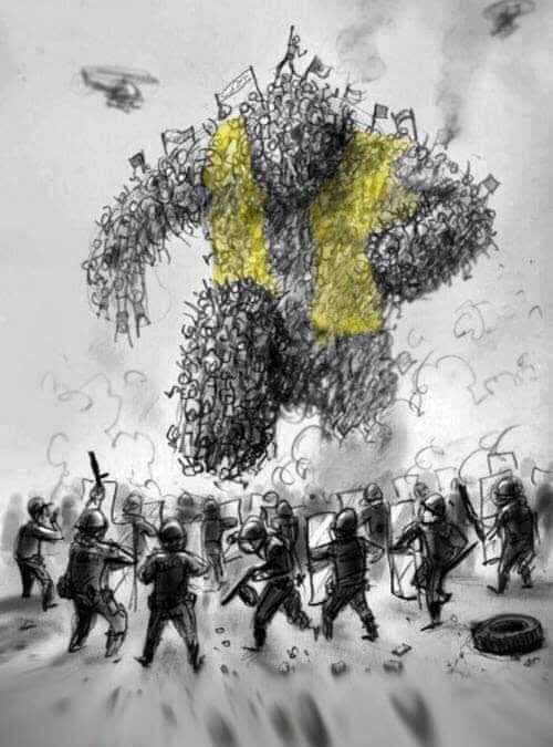 Message aux Gilets jaunes et au peuple de gauche