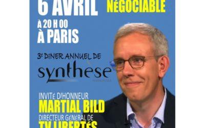 3e diner annuel de Synthèse Nationale
