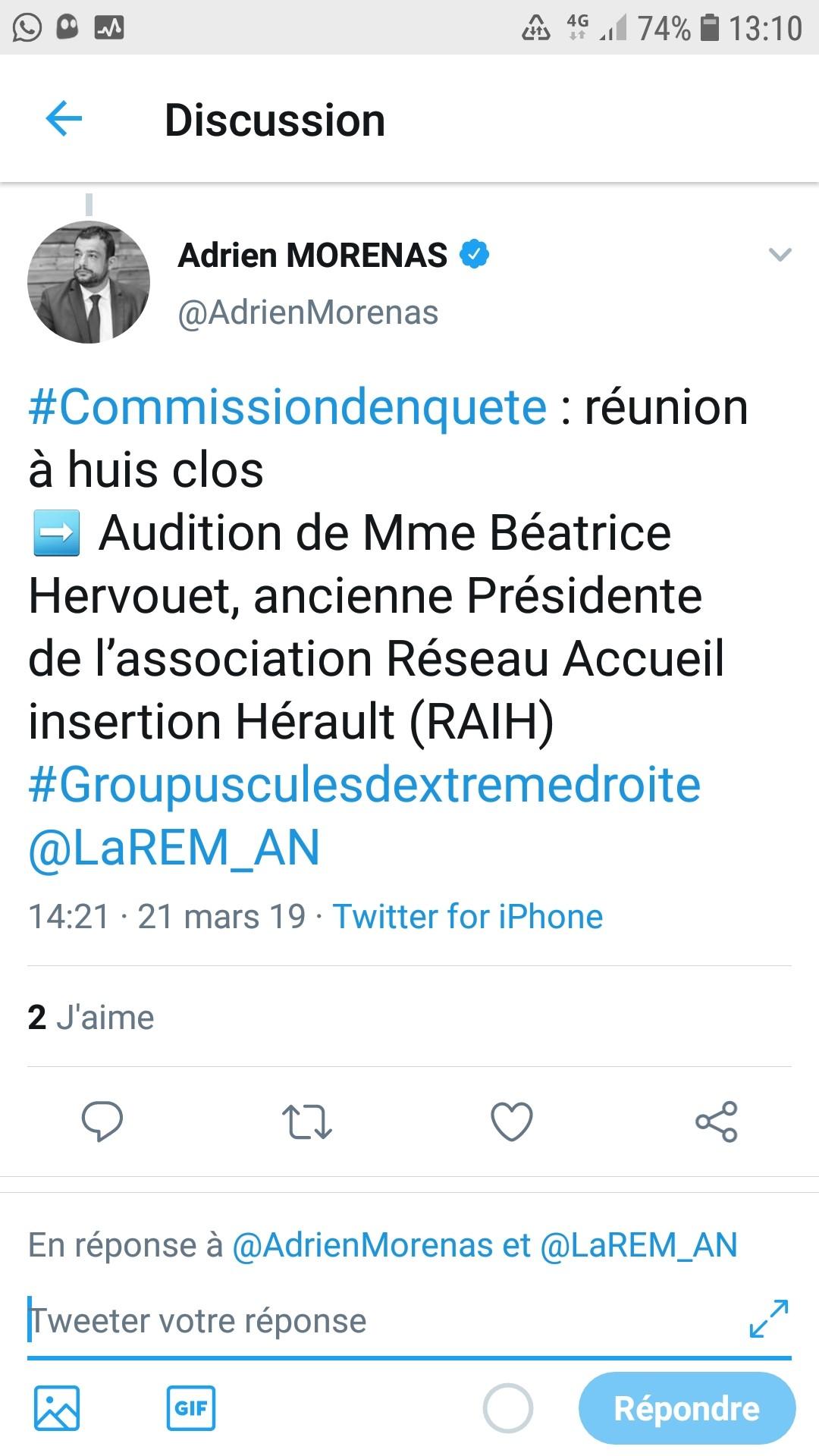 Béatrice Hervouet RAIH