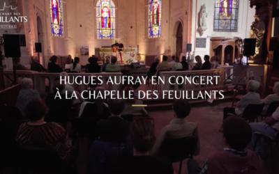 Hugues Aufray à la Chapelle des Feuillants à Poitiers