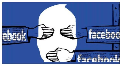 censure facebook