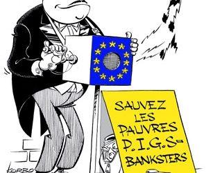 Quand les banquiers se gavent…