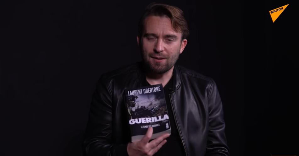 Interview de Laurent Obertone pour son dernier livre