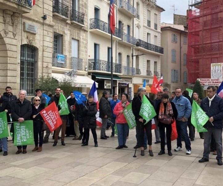 En Languedoc, manifestations populaires contre la loi (pseudo) bio éthique