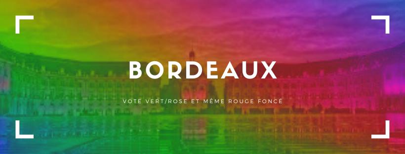 Bordeaux, vote vert/rose et même rouge foncé : une alternance en trompe l'œil