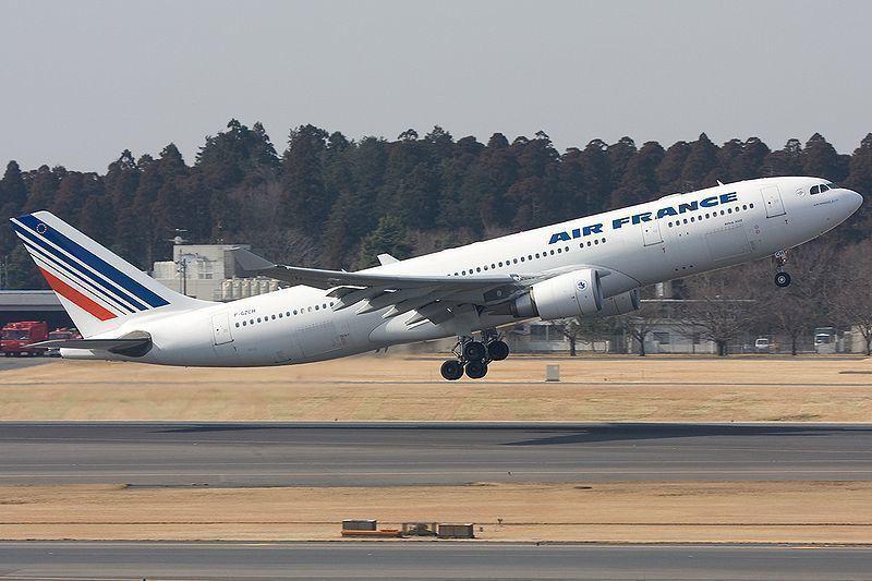 fin des vols Air France Bordeaux et Paris