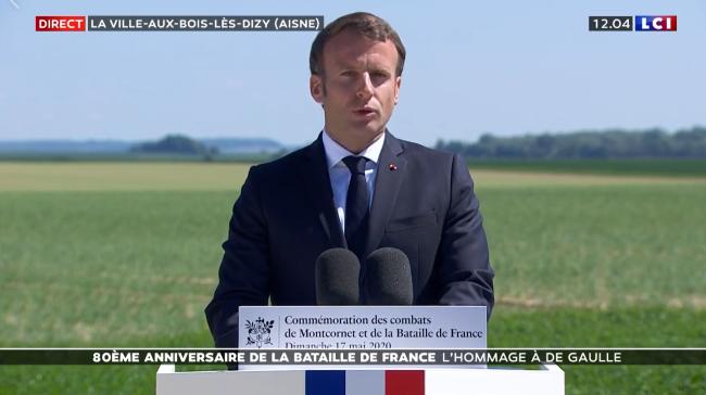 Don Quichotte-Macron dans l'Aisne