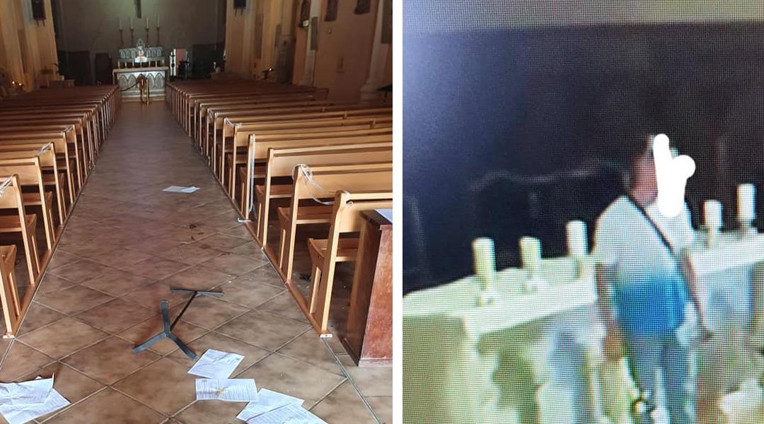 Église profanée à Pérols (34) : « Un homme » (???) jette la croix de l'autel, met le feu et défèque