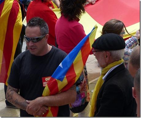 Commémoration du 7 novembre 2020 : l'extrême gauche catalane à la manœuvre
