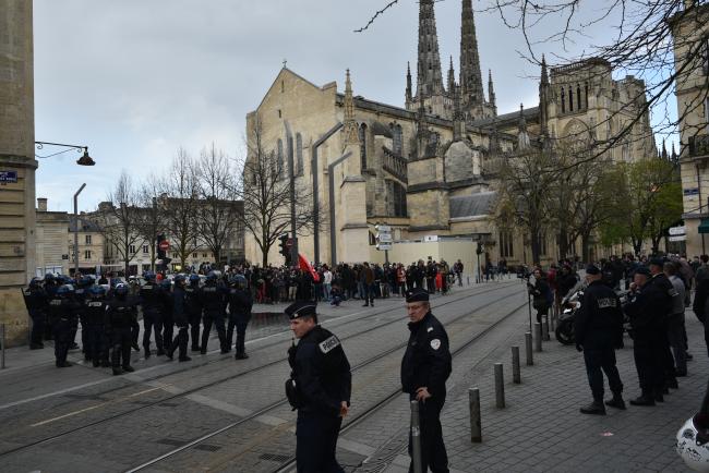 L'extrême gauche à Bordeaux contre la loi « Sécurité Globale » : une démonstration d'hypocrisie