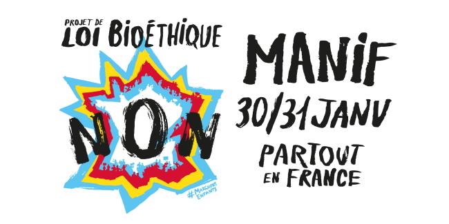 Manifestations « Marchons Enfants » partout en France les 30 et 31 janvier contre l'extension de la PMA, la GPA et le projet de loi bioéthique