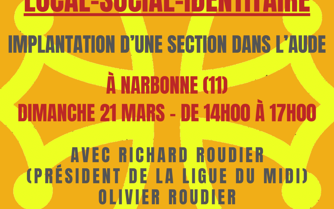 Implantation d'une nouvelle section dans l'Aude