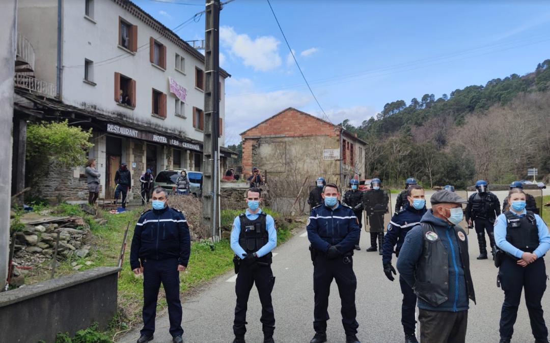 Squat de Saint-Julien-des-Points : les provocations squatteresques continuent