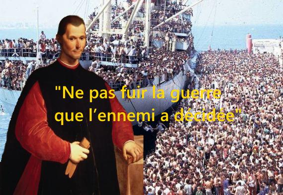 Machiavel et l'invasion migratoire
