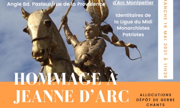 Hommage à Jeanne d'Arc