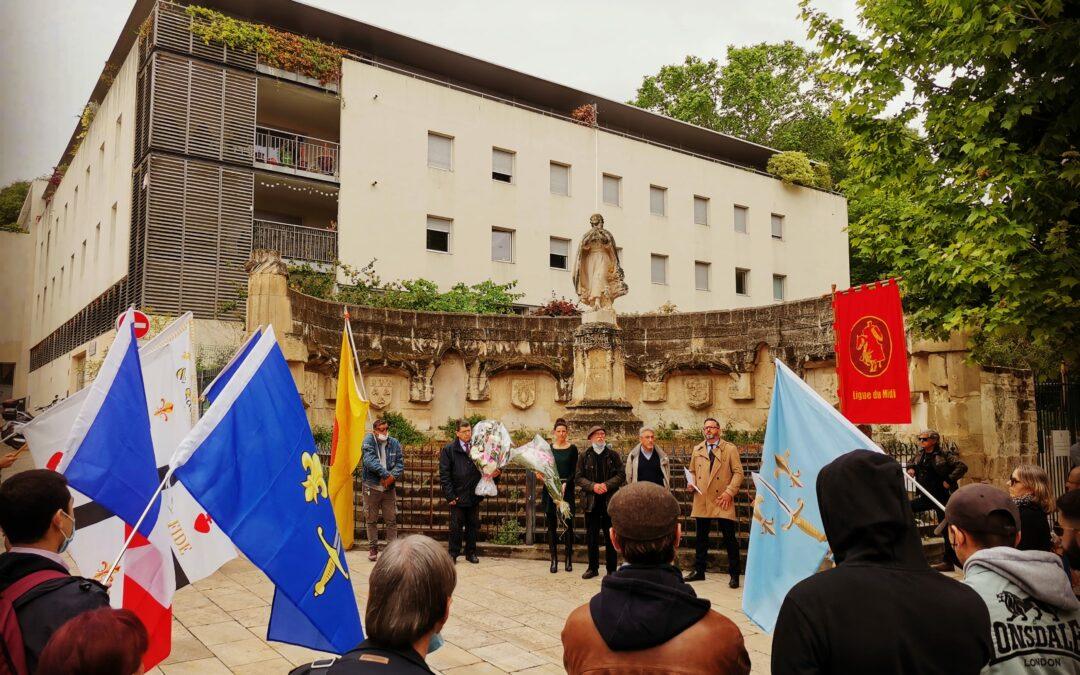 Hommage Jeanne d'Arc – Montpellier 16 mai 2021