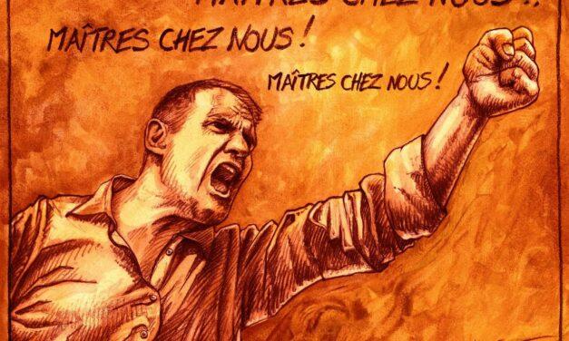 Yvan Benedetti lynché par des militants de l'Action Française à Paris