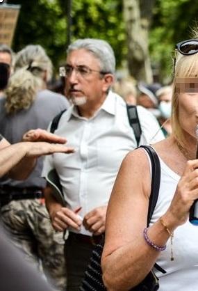 Manif anti passe sanitaire Nîmes le 31/07/21 : la Ligue a donné de la voix