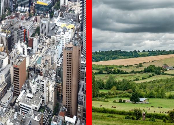 Ruralité contre métropoles